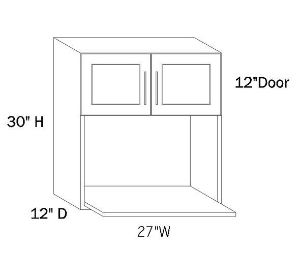 MW2730 - 27″W X 30″H X 12″D