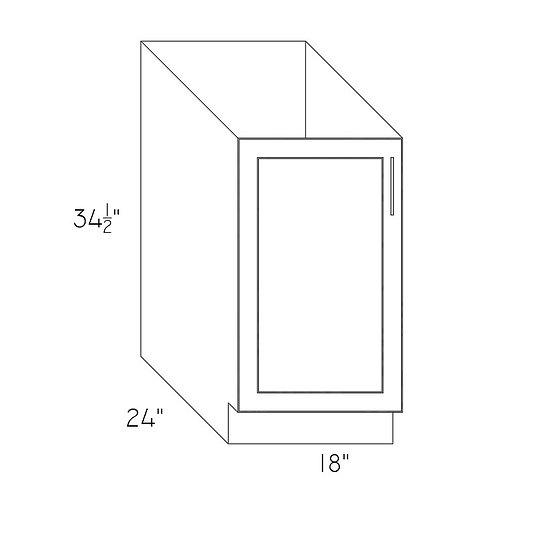 "FB18 - Full High Cabinets 18"" W"