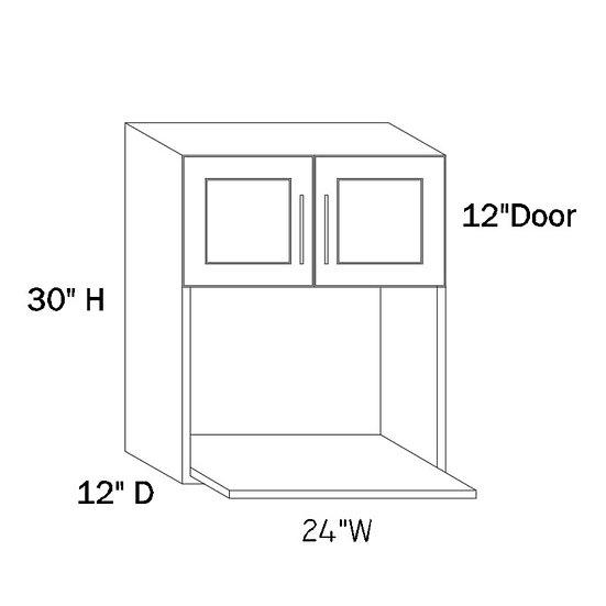 MW2430 - 24″W X 30″H X 12″D