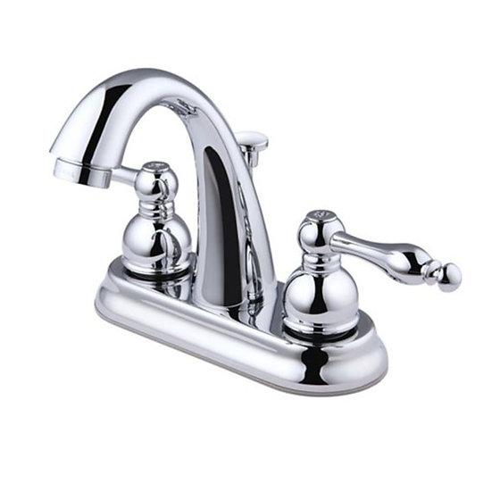 Peerless 2-Handle Lavatory Faucet, Chrome, 4-in-1