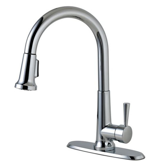 Peerless® Pull Down Kitchen Faucet, Chrome