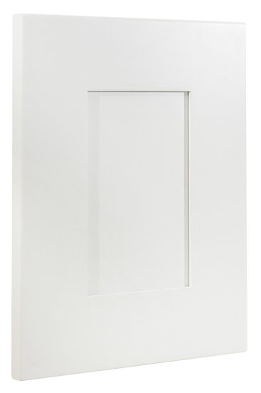 White Shaker Door Sample