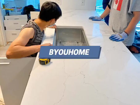 BYOUHOME cabinets wholesale countertops