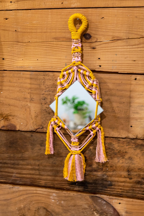 Align, See and Fly Macrame Hanging