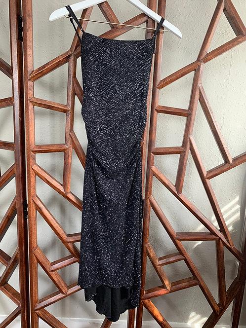 Vintage Sparkle Black Dress