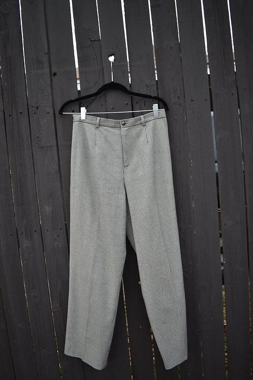 Black & White Rafaela Houndstooth Trousers