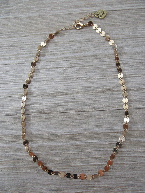 14kt Gold Plated Choker/Necklace