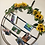 Thumbnail: Sunflower circle picture hanging (28 inches)