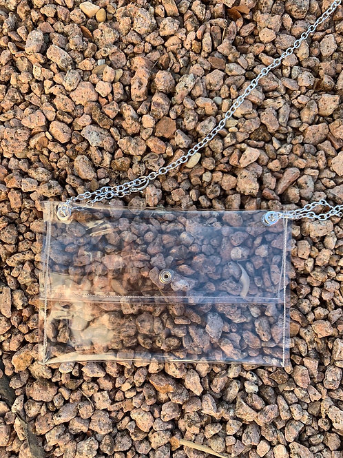 Be Clear Silver Crossbody