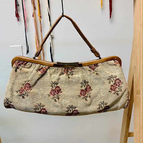 Rose Vintage Snap Purse