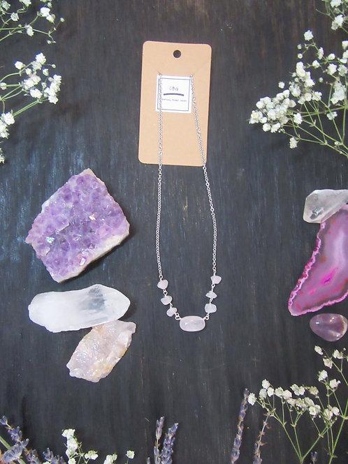 Rose Quartz Choker/Necklace