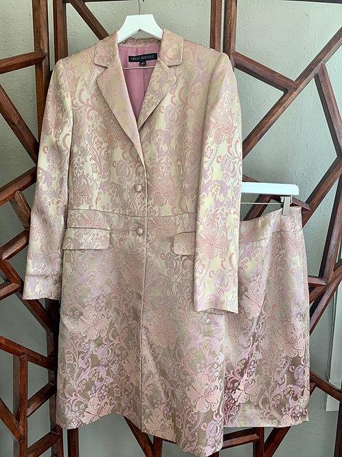 Jacquard Jacket and Skirt | Size 8