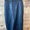 Thumbnail: Black Vintage Leather Skirt | 9/10