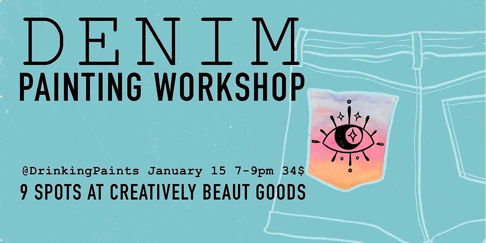 Denim Painting Workshop