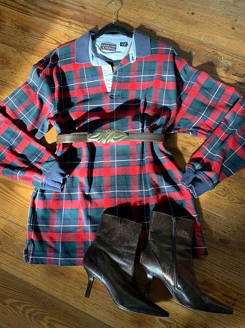 Christmas Plaid Shirt | Men's L