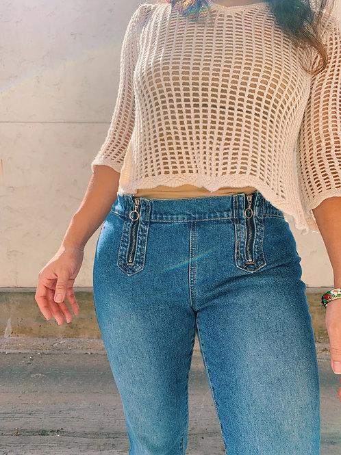 Vintage Tommy Hilfiger Cropped Jeans | Size 9