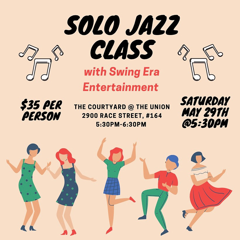 Solo Jazz Class