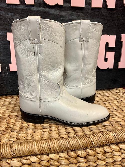 Bone Justin Boots   Size 7