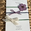 Thumbnail: Suede green, blue and purple flower headband set