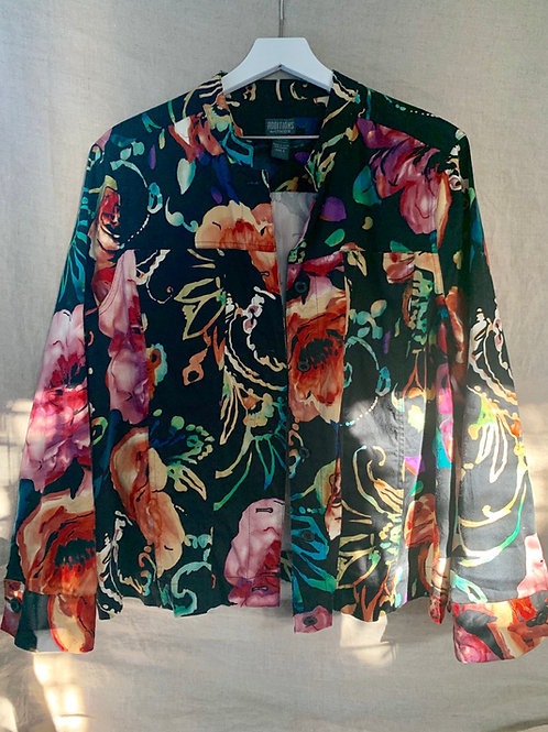 Vintage Chico's Shirt Jacket | Size 3