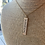 Thumbnail: Astro Metal Stamped Necklace