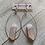 Thumbnail: Rose Quartz Gold Hoop Earrings