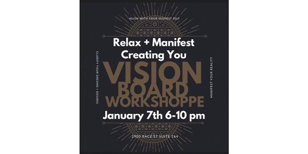 Massage, mediatation, vision board workshop
