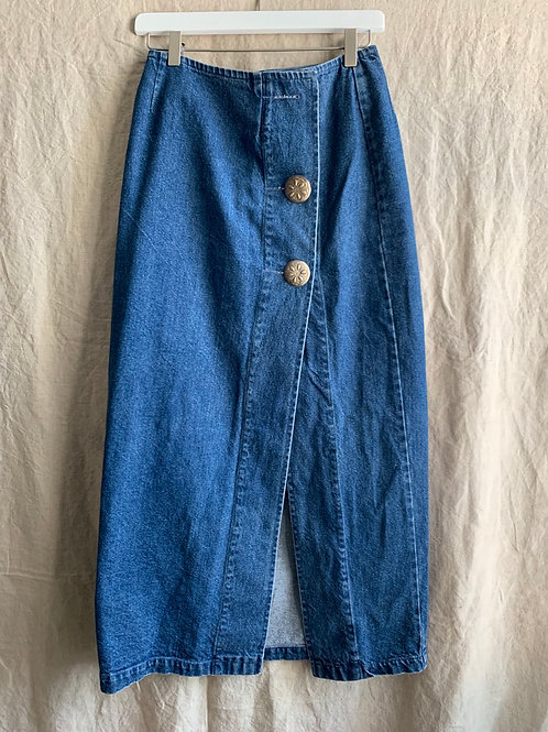 90s Vintage Denim Skirt