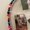 Thumbnail: Colorful pom pom circle picture frame ( 20 inches)