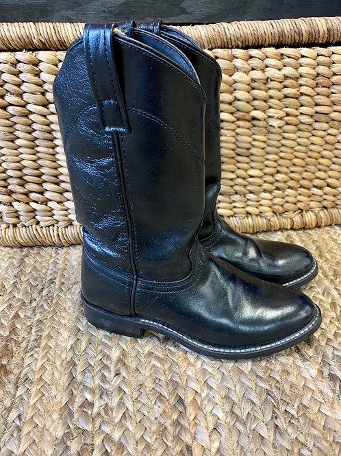 Black Laredo Boots | Size 7