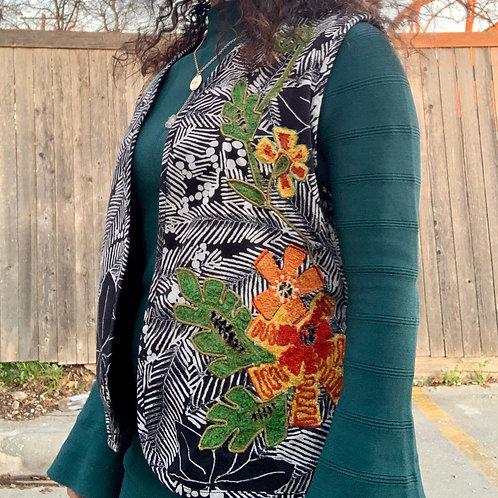 Vintage Chico's Safari Vest | Size 3