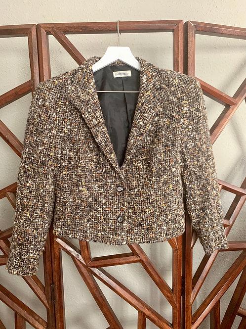 Vintage Barry Bricken Tweed Blazer | Size S