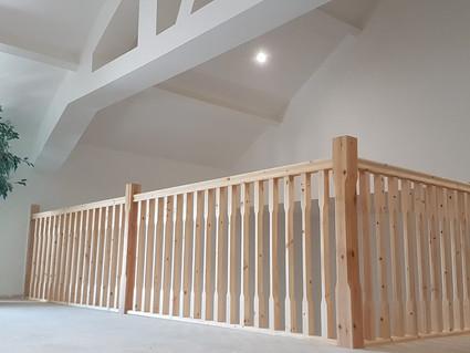 Loft conversion & bespoke bannister
