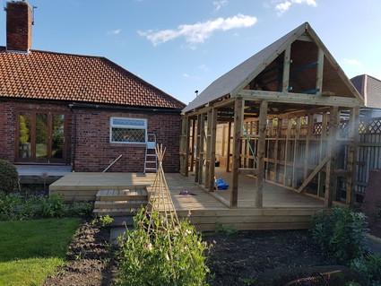 Decking & Summer House