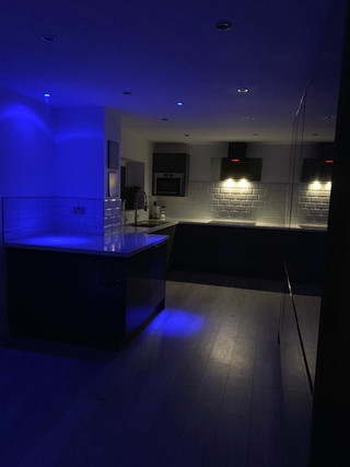 Full kitchen & lighting