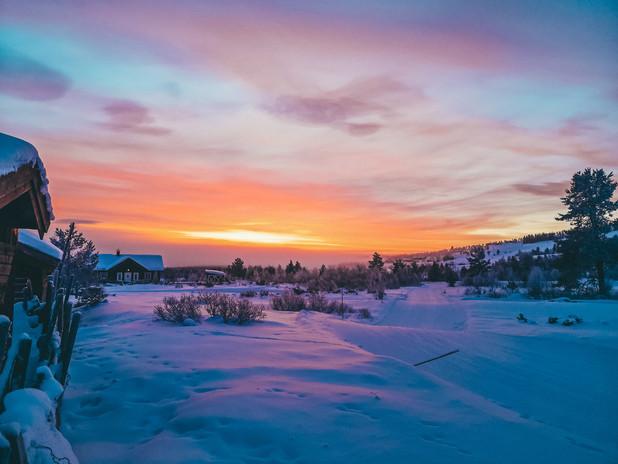 Sunrise at Golsfjellet_byIngridHorntvedt