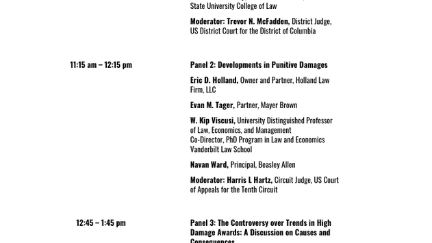 Symposium - Economics and Law of Civil Remedies: Developments in Damages and Nationwide Injunctions