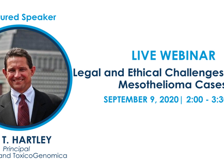 Webinar on Ethical and Legal Challenges in Lawsuits Involving Young People with Mesothelioma