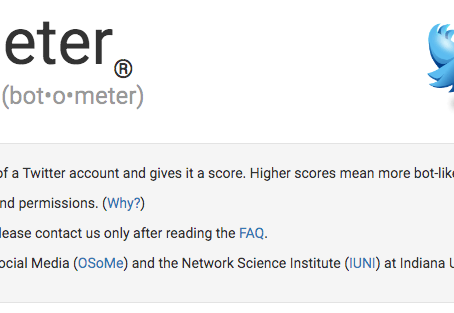 "The Open Access ""Botometer"" Assesses Twitter Accounts for ""Botness"""
