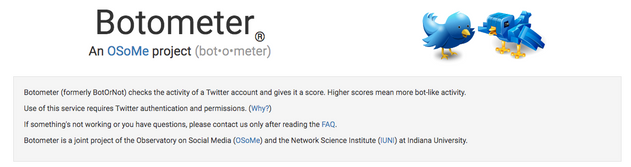"""The Open Access """"Botometer"""" Assesses Twitter Accounts for """"Botness"""""""