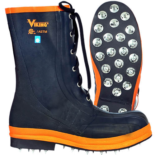 VW57 Viking Spiked Forester Boot (Steel Toe)