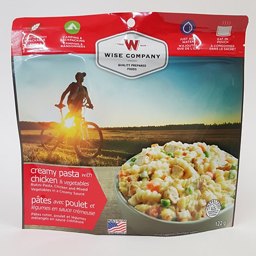 Wise Company Creamy Pasta w/ Chicken & Vegetables