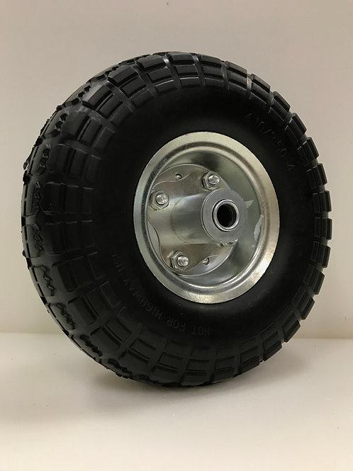 Flat free hand cart tire
