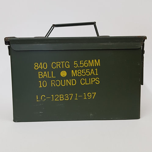 50 Cal. Ammo Can
