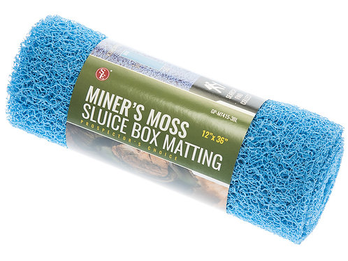 Miner's Moss Sluice Box Matting