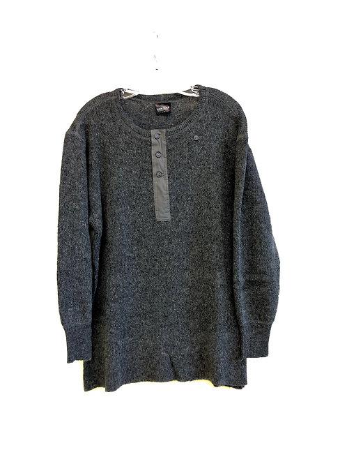 Light Long Sleeve Wool Henley Shirt