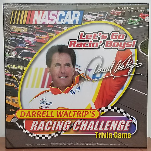 Darrell Waltrip's Racing Challenge Trivia Game
