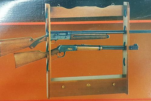 Wooden 4 Gun Rack