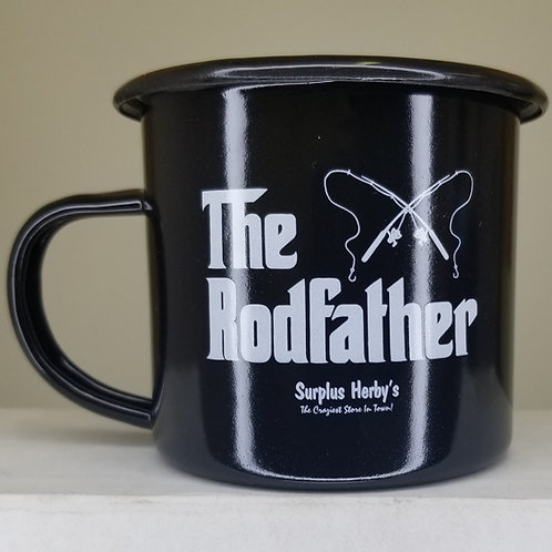 Enamel Mug The Rodfather
