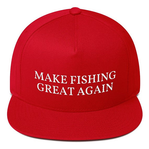 Make Fishing Great Again Snap Back Hat